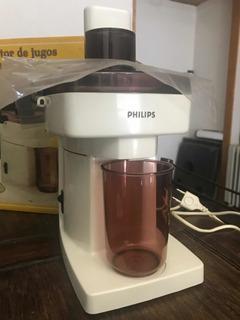 Juguera Extractor De Jugo Philips Hl3235 Nuevo