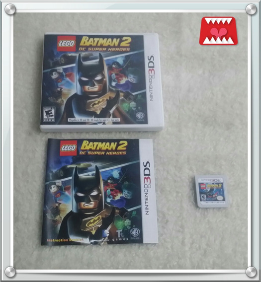 Jogo Lego Batman 2 Dc Super Heroes Nintendo 3ds Física