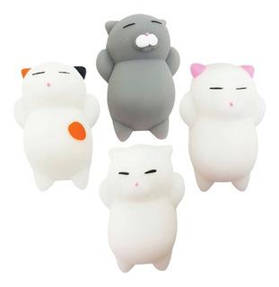 Gatito Squishy Cute Kawaii Juguete 5cm 1articulo Gato Mochi