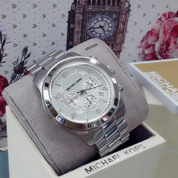 Relógio Feminino Mk8086 Prata 100 Serie Aço - Michael Kors