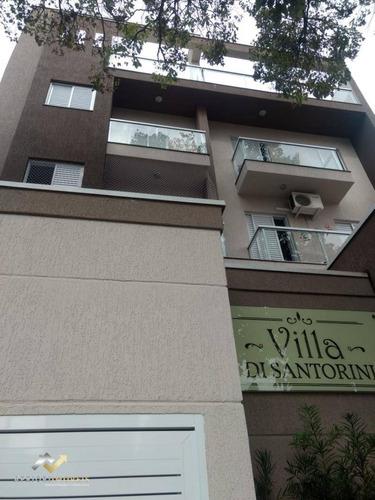 Cobertura Com 2 Dormitórios À Venda, 75 M² Por R$ 329.000,00 - Santa Maria - Santo André/sp - Co0812