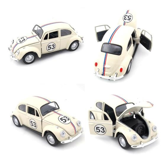 Miniatura Fusca Herbie 53 Ano 1967 Escala 1/32