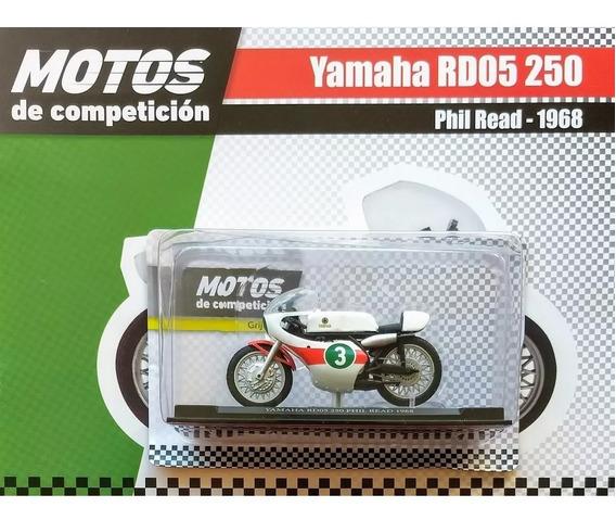Coleccion Motos Competicion N°22 Yamaha Rd05 250 Phil Read