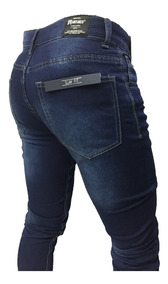 Pantalon Jeans Joggers Puño Elasticado Hombre