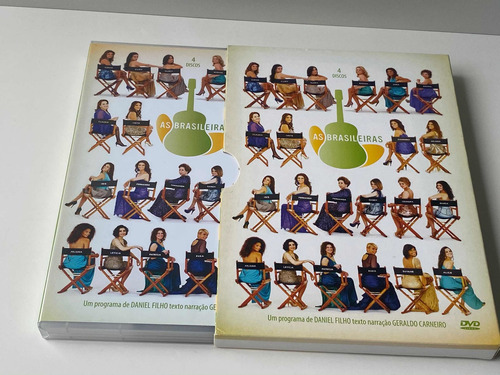 Box Dvd - Minissérie As Brasileiras - Original | Mercado Livre