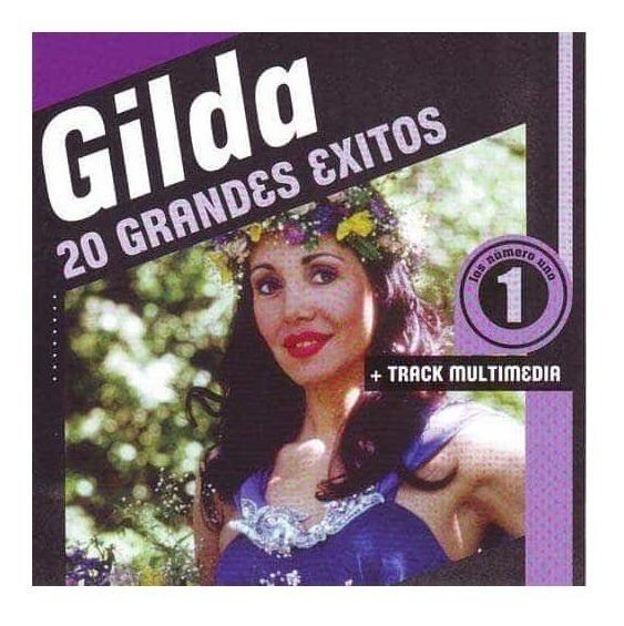 Cd Gilda 20 Grandes Exitos Nuevo Sellado Open Music L-