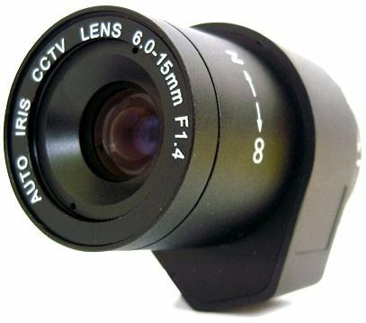 Lente Auto Iris Dc De 6.0 A 15.0mm