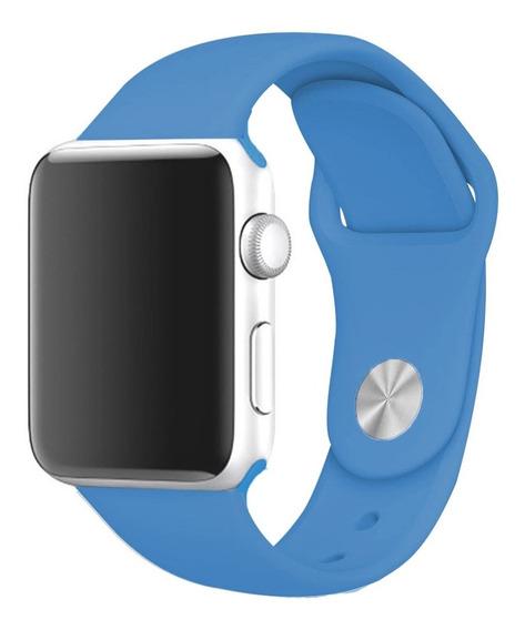 Correa Para Apple Watch Extensible Silicon 42 44 Mm