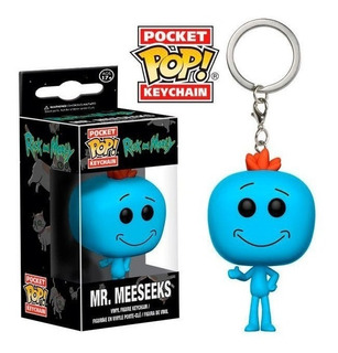 Funko Pop Keychain Rick And Morty Mr. Meeseeks