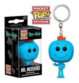 Funko Pop Keychain Rick And Morty Mr. Meeseeks
