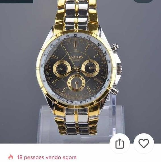 Relógio Masculino Quartz Whatch