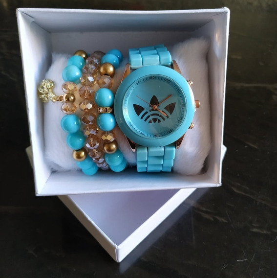 Kit Relógio Feminino + Caixa