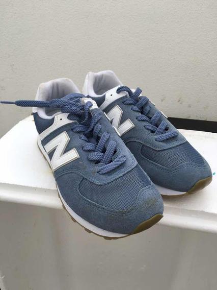 Tênis New Balance 574 Classic Azul Novo