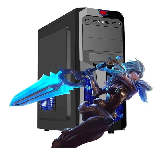 Pc Gamer Intel Core 2 Quad 4gb Ram Hd 320gb + Ssd Vga 2gb
