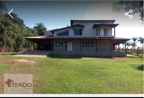 Chácara Com 4 Dormitórios À Venda, 17000 M² Por R$ 2.055.000,00 - Sítio Medeiros - Itupeva/sp - Ch0018