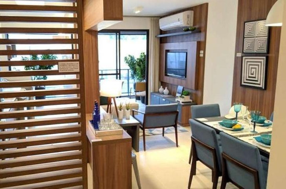 Apartamento Para Venda Em Rio De Janeiro, Tijuca, 2 Dormitórios, 1 Suíte, 2 Banheiros, 1 Vaga - Jjresdoco_2-998312