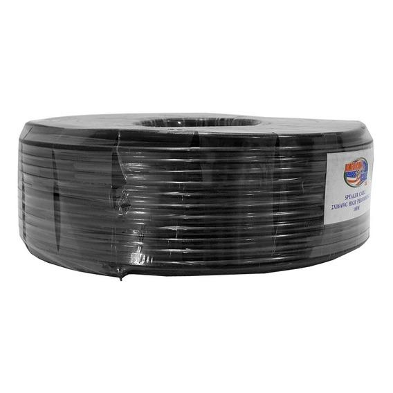 Cable Por Rollo De 100 Metros Encauchetado 2x14