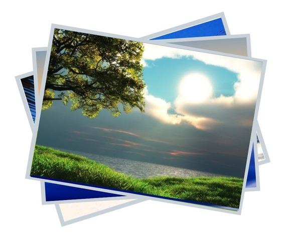 Papel Fotográfico Adesivo A4 Glossy 130 Grs 100 Folhas Brilh