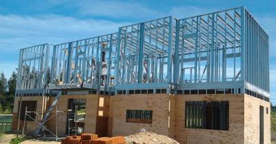 Construccion De Casas Solidas Ligeras Ampliaciones Metalcom