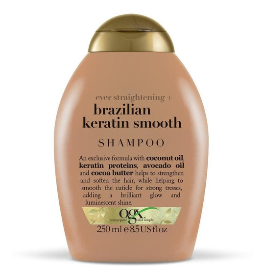 Shampoo Ogx Brazilian Keratin Smooth 250 Ml