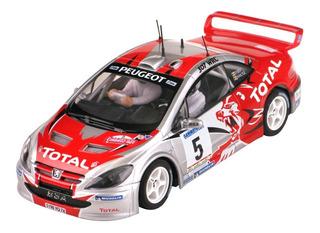 Autoslot- Scx Peugeot 307 Cc Wrc Total Oferta!!