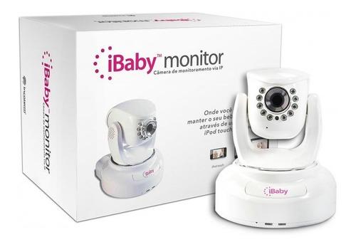 Babá Eletrônica Ibaby Com Visão Noturna Giro 360 Incoterm