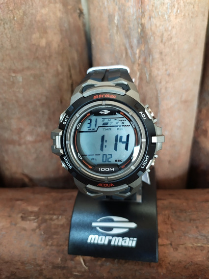 Relógio Mormaii Masculino Mod Mo1147a/8c - Original Com Nf