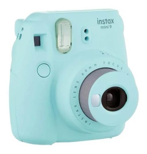 Câmera Instax Mini 9 Fujifilm Instantânea - Azul Aqua