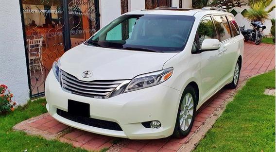 Toyota Sienna Limited 2015. Automatica, Piel, V6, 3.5l Lujo
