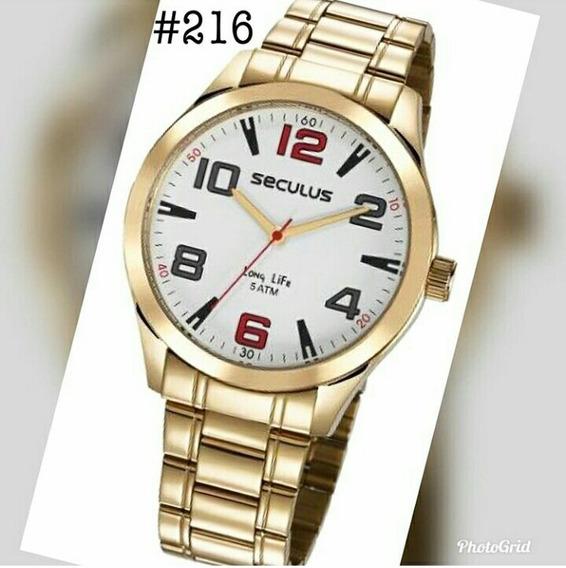 Relógio Marca Seculos De 2 Anos De Garantia