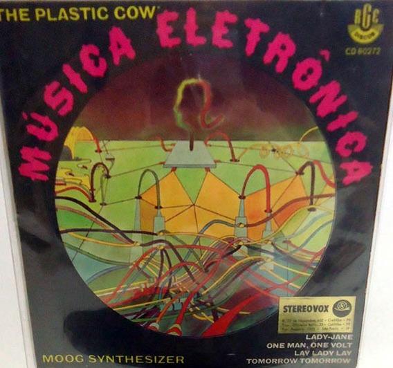 The Plastic Cow 1970 Música Eletrônica Compacto Moog