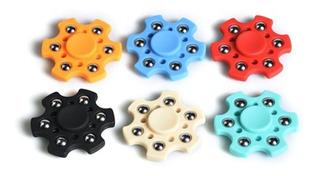 Fidget Spinner Hexagonal Juguete Anti Estrés