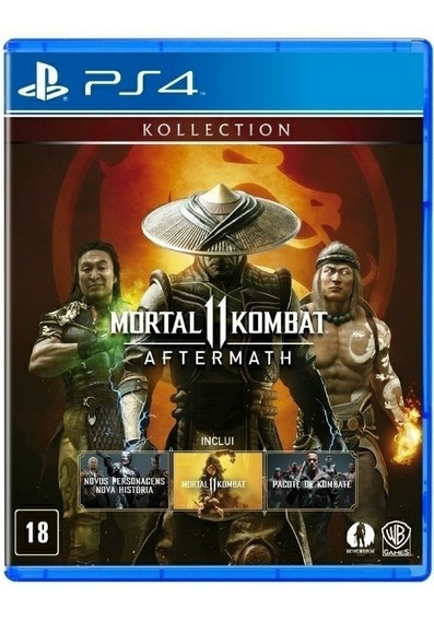 Mortal Kombat 11: Aftermath Ps4 Física Original Português