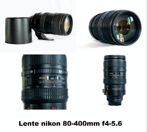 Lente Nikon 80-400mm F4-5.6