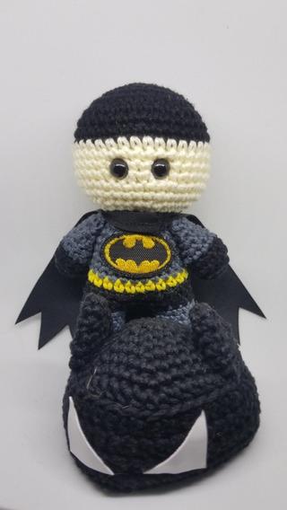 BATMAN Patrón Amigurumi Superhéroe Capa Dc Super Heroe Sencillo ... | 568x320