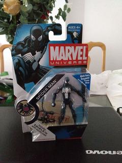Spider-man Black Costume Marvel Universo Hasbro Nuevo