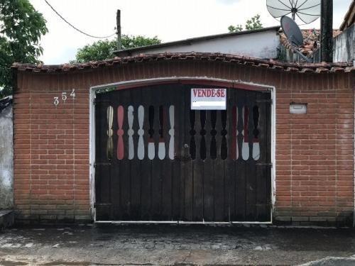 Casa Em Itanhaém Possuindo Metragem De 125m² 5480e