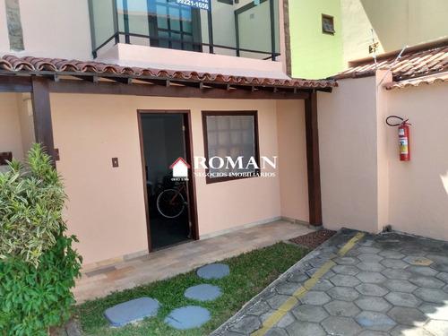 Excelente Casa Duplex Em Condomínio - 4184