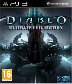 Diablo 3 Reaper Of Souls Ultimate Evil Edition Ps3 Completo