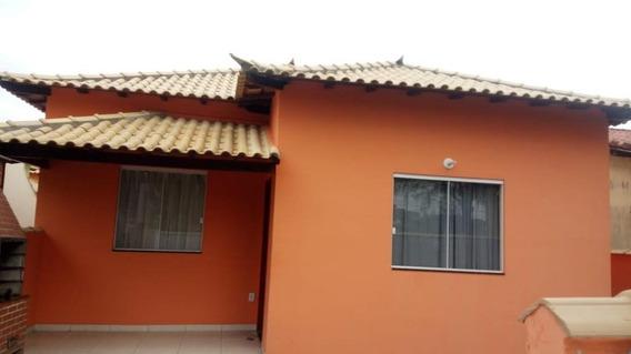 Belíssima Casa De 3 Quartos Sendo 1 Suite Dentro De Condomínio Lado Praia Em Unamar-cabo Frio!! - Ca1091