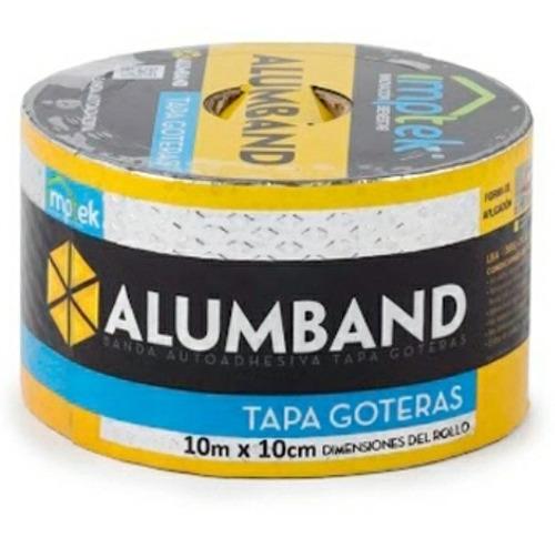 Cinta Asfaltica Tapagotera Eternit 10*10 Adhesiva Alumban