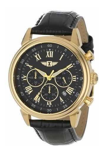 Relógio Invicta 90242-003 Banho A Ouro Garantia 5 Anos + Nf