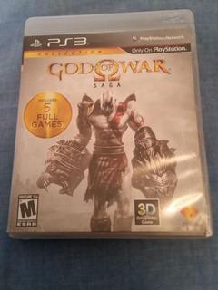 God Of War Saga 1, 2 Y 3