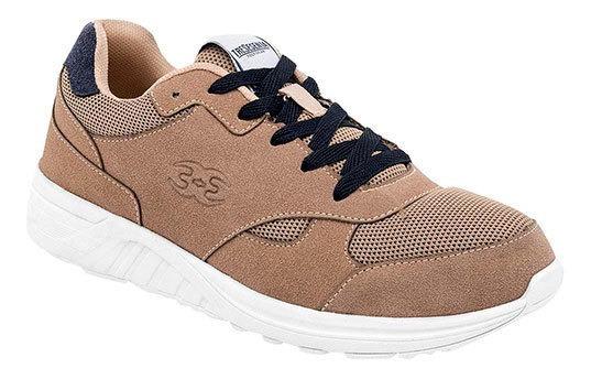 360 Sneaker Casual Niño Beige Sintéticotextil J80119 Udt