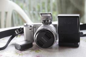 Camera Sony Nex 5 Lente 18 55mm