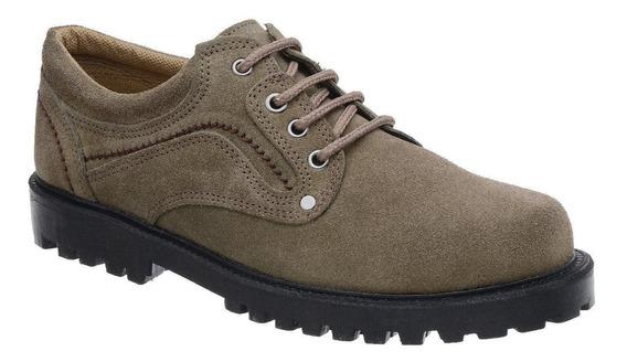 Sapato Camurça Com Cadarço Fearnothi