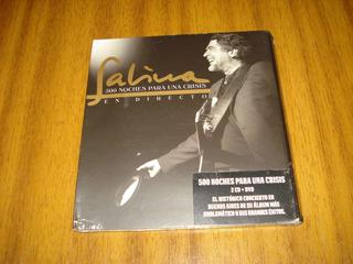 Box 2cd+dvd Joaquin Sabina / 500 Noches ..(nuevo Sellado)