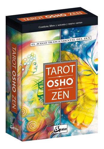 Tarot Osho Zen - Libro +  78 Cartas - Gaia Termosellado