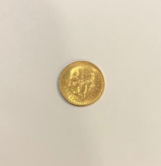 Moneda De Oro 2 1/2 Pesos 1945