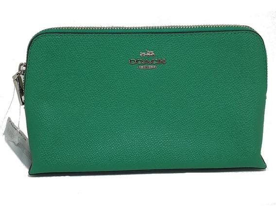 Bolsa Pequena De Mão Feminina Coach Verde